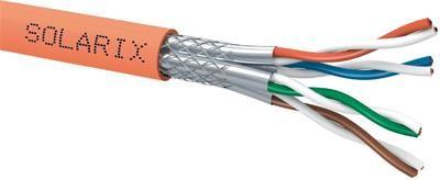 Solarix instalační kabel  CAT7 SSTP LSOH CPD 500m/cívka SXKD-7-SSTP-LSOH-CPD podle vyhl. č. 23/2008