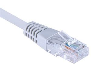 EuroLan Comfort patch kabel FTP, Cat5e, AWG24, ROHS, 7,5m, šedý