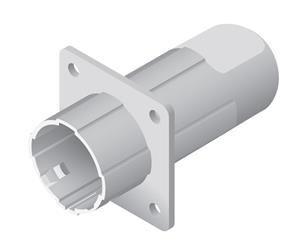 UBNT Náhradní díl k AirGrid M5 - zadní část zářiče (starý kulatý model)