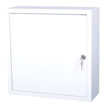 Rozvodná skříň 400x400x140, plechové dveře, uzamykatelná bez ventilace