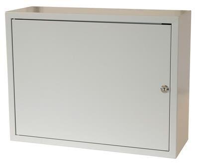 Rozvodná skříň 520x400x180, plechové dveře, uzamykatelná bez ventilace