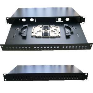 """Optická vana 19"""" 24xSC simplex včetně kazety"""