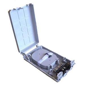 Nástěnný optický spojovací box pro 24pigtailů vč kazet