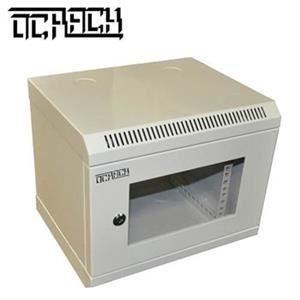 10' OCRACK OCC-10-6U-S rozvaděč nástěnný 6U/280mm skleněné dveře