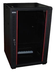 19' OCRACK OCC-25U-66SBK rozvaděč stojanový 25U/600x600 skleněné dveře