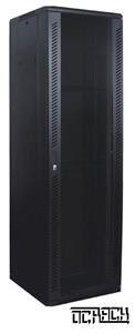 19' OCRACK OCC-30U-68SBK rozvaděč stojanový 30U/600x800 skleněné dveře